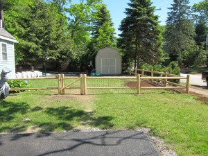 Fence Installation - 2