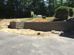 Bedford Retaining Wall