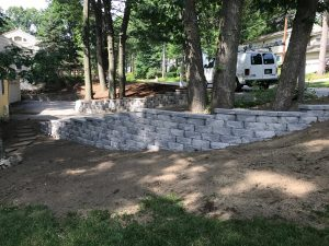 Wharton Road Retaining Wall