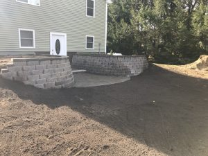 Sanders Road Retaining Wall